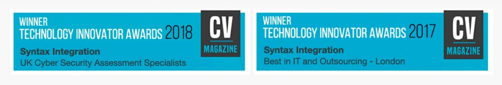 it support - contact the 2018 technology innovator award winners Syntax IT Support London